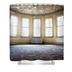 Shower Curtain featuring the photograph Seven Windows by Randall Cogle