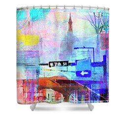 Seventh Street Shower Curtain