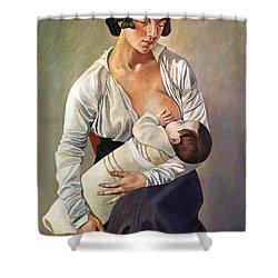 Severini: Maternity, 1916 Shower Curtain by Granger