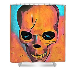 Shower Curtain featuring the digital art Sex Drugs And Rock N Roll by Floyd Snyder