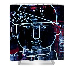 Sexy Successful And Open Minded Shower Curtain