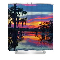 Swamp Sexy Shower Curtain