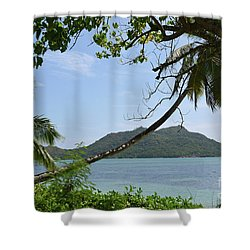 Seychelles Islands 2 Shower Curtain by Eva Kaufman