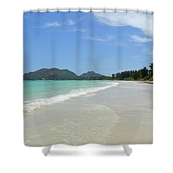 Seychelles Islands 6 Shower Curtain by Eva Kaufman