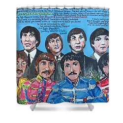 Sgt.pepper's Lonely Hearts Club Band Shower Curtain