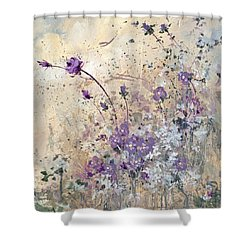 Shabby Eleven Shower Curtain