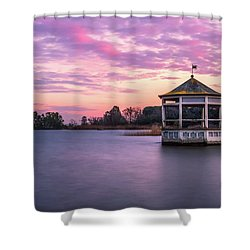Shades Of Pink Light Shower Curtain