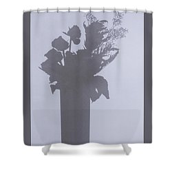 Shades Of Roses Shower Curtain