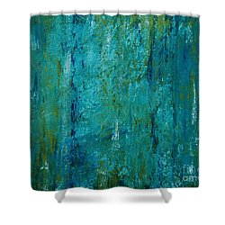 Shades Of The Sea Shower Curtain