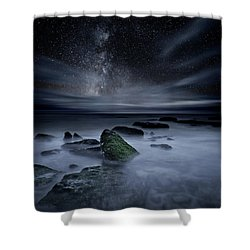 Shades Of Yesterday Shower Curtain by Jorge Maia