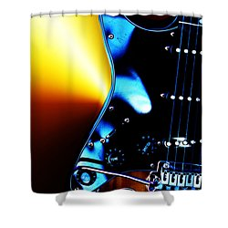 Shower Curtain featuring the photograph Shadow Dancer by Baggieoldboy