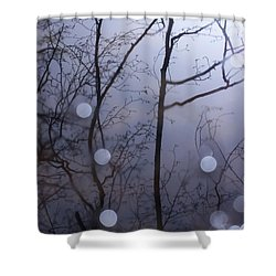 Shadow Forest Shower Curtain