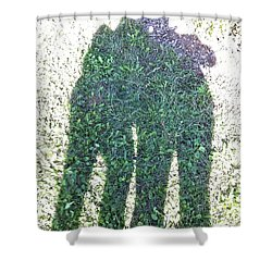 Shower Curtain featuring the photograph Shadow In The Meadow by Wilhelm Hufnagl