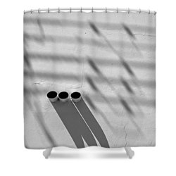 Shadow Notes 2006 1 0f 1 Shower Curtain