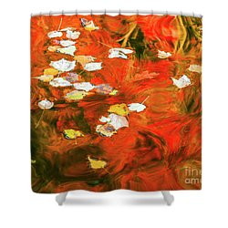 Shadow Of The Red Dragon Shower Curtain