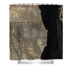 Shadow On The Stone Shower Curtain
