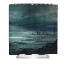 Shadow Over Innsmouth Shower Curtain