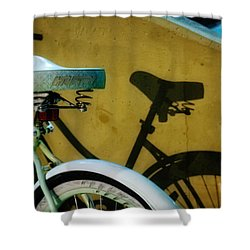 Shadow Ride Shower Curtain by Greg Mimbs