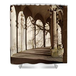 Shower Curtain featuring the photograph Shadows And Curves by Richard Bryce and Family
