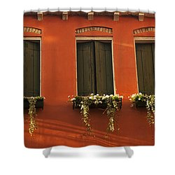 Shadows And Shutters Shower Curtain