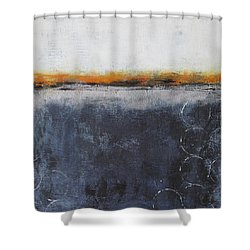 Shower Curtain featuring the painting Shadows In The Night by Nicole Nadeau