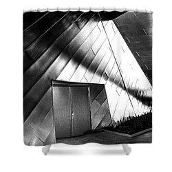 Shadows On The Wall Shower Curtain
