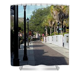 Shady Hypolita Street Shower Curtain
