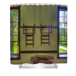 Shaker Dining Shower Curtain