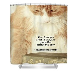 Shakespeare In Love Shower Curtain