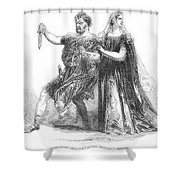 Shakespeare: Macbeth, 1845 Shower Curtain by Granger