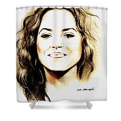 Shakira Shower Curtain