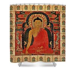 Shakyamuni Buddha Shower Curtain