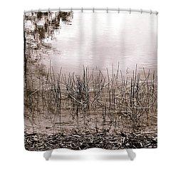Shallow Basin Shower Curtain