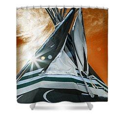 Shamans Tipi Shower Curtain