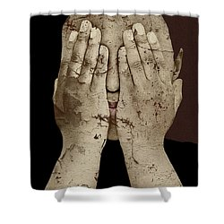 Shame Shower Curtain