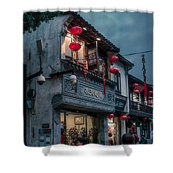 Shangtang Street Shower Curtain