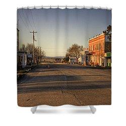Shaniko Oregon  Shower Curtain by Lee  Santa