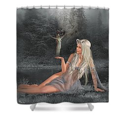 'shannathshima' Shower Curtain