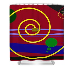 Shapes And Sizes Shower Curtain