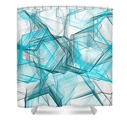 Shapes Galore Shower Curtain