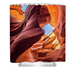 Shapes Shower Curtain by JR Photography