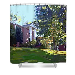 Sharbel House Shower Curtain