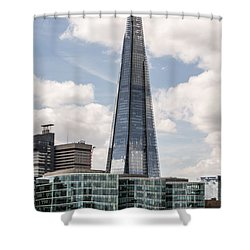 Shard Building In London Shower Curtain
