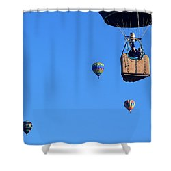 Share The Air Shower Curtain