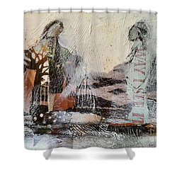 Shared Past Shower Curtain