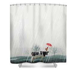 Shower Curtain featuring the photograph Sharing by James Bethanis