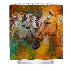 Sharing Secrets Shower Curtain by Sherry Shipley