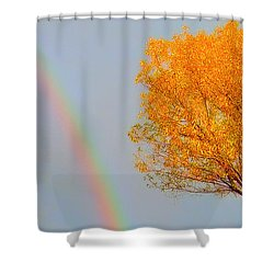 Sharing The Sky Shower Curtain
