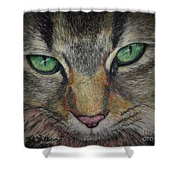 Sharna Eyes Shower Curtain