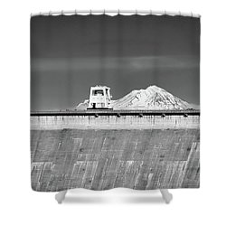 Shasta Dam  Shower Curtain